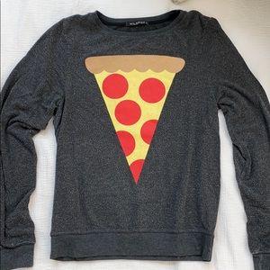 Wildfox Pizza Sweatshirt Crewneck
